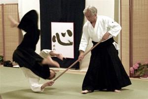 Master Koretoshi Maruyama & Martijn van Hemmen Sensei - Rotterdam - May 2005
